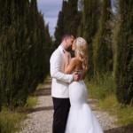 wedding video in Tuscany Zoe + Myles